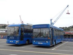 Tantivy 61 & 201 (Coco the Jerzee Busman) Tags: tantivy blue coach bus tours jersey uk channel islands