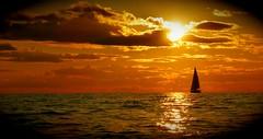Sojourn - READ DESCRIPTION (TrackHead Studios) Tags: trackhead trackheadxxx adamhall trackheadstudios boating sailboats sunset sunsets sunrise lakemichigan lake betsiebay frankfortmi frankfort frankfortmichigan