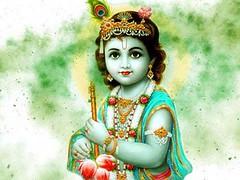 Birthday of Lord Krishna - Youth Akali Dal (sukhbirsingh_badal) Tags: lord krishna birthday celebration greeting wishes
