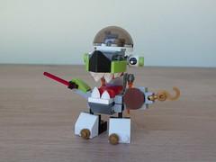 LEGO MIXELS SHARX ROKIT MIX or MURP? Instructions Lego 41566 Lego 41527 (Totobricks) Tags: lego mixels sharx rokit mix murp instructions legomixels series8 series4 pyrratz orbitons lego41566 lego41527 41566 41527 howto build make totobricks