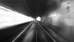 Love Is Suicide (damonabnormal) Tags: bw blackandwhite urbanphotography philadelphia august 2016 summertime subway underground subterranean theel septa inmotion movement