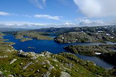 Landscape of Vest-Agder (koos.dewit) Tags: 2016 fuji fujixe2 fujifilm koosdewit koosdewitnl noorwegen norway vestagder clouds holiday landscape mountains water fujinon xf1855mm