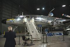 DSC_0270a Lockheed VC-121E Constellation Columbine III (kurtsj00) Tags: lockheed vc121e constellation columbine iii usaf museum wright patterson nationalmuseumoftheusairforce