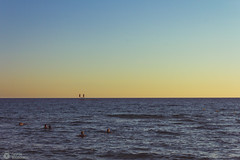 """     "" (sbouboux) Tags: corfu kerkyra greece hellas sea golden hour sunset yellow orange   goldenhour glyfada  blue ionianislands  summerlight"