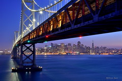 [Under the Bay Bridge] (miltonsun) Tags: baybridge sanfrancisco cityscape shore sfskyline california westcoast bayarea bridge