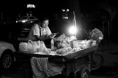 Beijing (Jordan Barab) Tags: beijing sonydscrx100markiii night street streetphotography china streetvendor streetfood blackandwhite bw