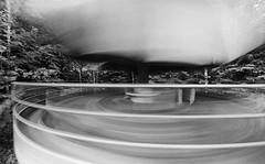 04 (rtw1r) Tags: rtwlr urbanexploration urbex  russia abandoned ruins decay carousel abandonedcarousel childrens camp darkness darkplace dark analogphotography filmphotography film 35mm blackandwhite bw tasma d76 longexposure
