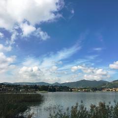 (Paolo Cozzarizza) Tags: italia lombardia brescia paratico acqua lago lungolago panorama cielo piante