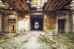 The ravages of time (Yann PESIN) Tags: urbex urban exploration decay urbexing oblivion path urbaine oubli ruine abandoned places exploring