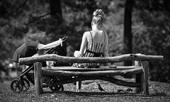 Summertime (Anna Kwa) Tags: summertime centralpark moment baby lady bird nyc newyork usa annakwa nikon d750 afsnikkor70200mmf28gedvrii my summer travel always seeing heart soul throughmylens world happiness aristotle