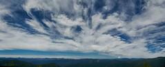 sky-o-rama (rovingmagpie) Tags: oregon detroit triangulationtrail mounthood panorama clouds pano sky hdr touregon summer2016 bfs
