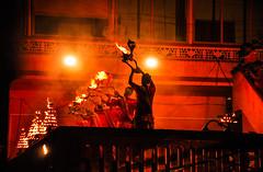 Ceremony at Dashashwamedh Ghat (PiccolaSayuri) Tags: benares varanasi hindu india night mistic gange ganga dashashwamedhghat rajasthan haryana uttarpradesh madhyapradesh delhi mandawa bikaner jaisalmer jodhpur udaipur jaipur agra fathpursikri gwalior orchha khajuraho incredibleindia temples forts colours people faces