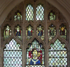 two saints with swords and seven bishops (Simon_K) Tags: wiggenhall mary magdalene magdalen norfolk eastanglia