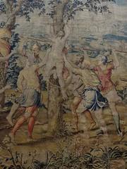 """St Georges subit le supplice de l'arbre"", 1552, Johannes Karcher, Muse piscopal, via San Romano, Ferrare, Emilie-Romagne, Italie. (byb64 (en voyage jusqu'au 09-10)) Tags: ferrare ferrara emilieromagne emiliaromagna emilia emilie fe italie italy italia italien europe europa eu ue unesco unescoworldheritagesite muse museum museo museodelduomo tapisserie arazzo tapestry sangiorgio stgeorges bildwirkerei tapiz xvie 16th cinquecento 1500 renaissance renacimiento rinascimento"