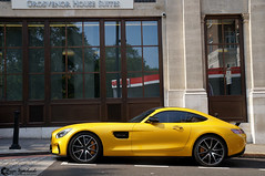 Mercedes AMG GT S (Marcinek_55) Tags: supercar supercars hypercar hypercars sportcar sportcars gespot autogespot london england knightsbridge mayfair german boxter blue exotic exotics harrods sloane street unique color arab cars invasion summer central city kuwait qatar car spotting spottes spotter may 2016 photography fast marcinek 55 sony 57 a57 exoticsonroad road italian v12 voitures 2015 august londonsupercars supercarsinlondon vehicle racecar sportscar architecture outdoor building mercedes amg gts gt s