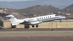 Learjet 45 N100GY (ChrisK48) Tags: aircraft airplane dvt kdvt lear learjet45 n100gy phoenixaz phoenixdeervalleyairport