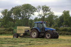 silage at lisacul (martincoleman85) Tags: lisacul roscommon ireland krone new holland