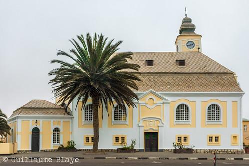 J10. Eglise lutherienne - Swakopmund