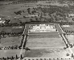 Parliament House, Canberra - 11th Mar 1937 (Royal Australian Historical Society) Tags: canberra rahs royalaustralianhistoricalsociety adastra adastraaerialsurveycollection aerialphotography landscape 1937