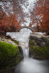 Waterfallception (billpeppasphotography) Tags: waterfall waterfalls water river stream flow flowing moss green greece hellas trikala pili pyli palaiokaria palaiokarya thessaly thessalia autumn fall
