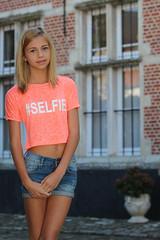 Zo - age 13 (RURO photography) Tags: teen teenagegirl schoolgirl girl 13 age preteen fille mdchen shulmdchen zo lier belgium belgique begijnhof