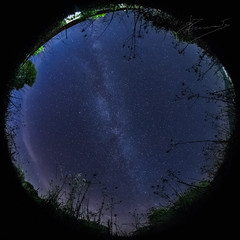 november sky (dtsortanidis) Tags: sky nature night canon stars photography mark space 360 fisheye whole greece ii 5d astronomy universe 8mm cosmos circular degrees dimitris milkyway patra dimitrios widefield fullsky 815mm tsortanidis dtsortanidis