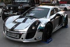 Forgiato Wheels Exhibit - Race Car (RoamingTheClouds) Tags: lotus sema falken allchrome chromedout forgiato