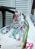 Arya - baby quilt (Petit Design Co.) Tags: baby snow quilt name lime personalized karavan konacotton valoriwells petitdesignco