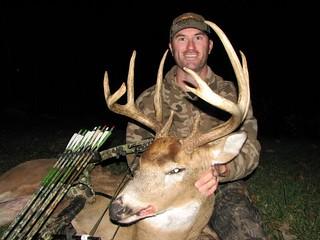 Kansas Trophy Whitetail Bow Hunt 23