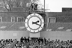 The Clock End (Barry Brooke) Tags: greatbritain london football highbury arsenal supporters clockend