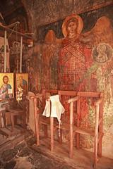 Ναός Αγίου Νικολάου Γαλαταριάς, τοιχογραφία Αρχάγγελου Μιχαήλ