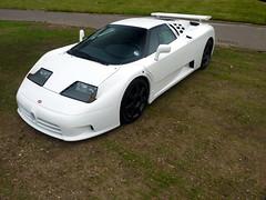 EB110 SS (BenGPhotos) Tags: auto show white car sport chelsea ss 110 super exotic cal legends bugatti rare supercar eb 2012 v12 eb110 hypercar
