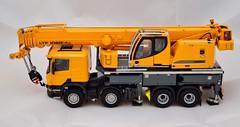 Crane on a Truck II (KNL-17) Tags: nikon crane 150 speedlight scania wsi scalemodel liebherr d600 mobilecrane telescopicboom scaniap420 sb910 nikkorafs2485mmf3545gvr ltf106041