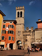 Riva del Garda  6th October (saxonfenken) Tags: city italy buildings town cityscape arch riva 168 lakegarda gamewinner pregamewinner 168city