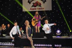 Ilia Kulik, Shae-Lynn Bourne and Paul Wylie with Jewel
