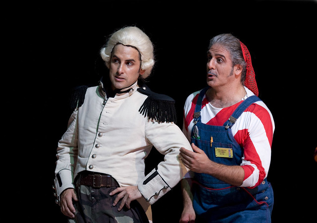 "Juan Diego Flórez and Pietro Spagnoli in Il barbiere di Siviglia.  Photo by Bill Cooper  <a href=""http://www.roh.org.uk"" rel=""nofollow"">www.roh.org.uk</a>"