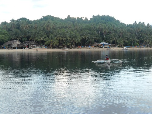 Typical fishing village, Barangay Barton, San Vicente, Palawan, Philippines. Photo by Eva Marie Ponce de Leon, 2011.