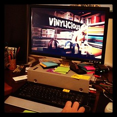 Editing spots for KSL, an in studio look at Kanani Hayes of @vinylicious #handmade #beehivebazaar #vinyl