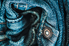 Lee Denim Jeans (Photoshoparama - Dan) Tags: macro jeans denim bluejeans textiles lightbox fibers leejeans deniim macromonday cmwdblue photoshoparama danielejohnson wealthystreetphotography dej8087