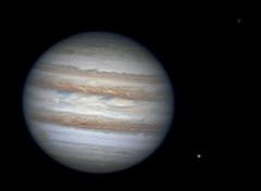 Jupiter, Europa & Callisto animation - 11/19/12 (zAmb0ni) Tags: moon solar europa system astrophotography planet animation astronomy gif jupiter celestron callisto spc900nc
