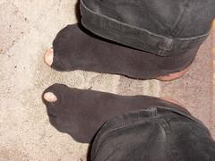 Not so bad or?? (lasseman92) Tags: new broken socks nice sock toe hole bad holes holy terrible worn torn heel cry trasig hobo hollow ragged tattered holey nya inherited nästan hål tå strumpa straff häl luffar strumphål utslitna