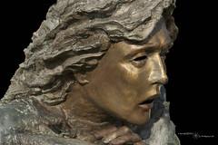 Bronze Statue (Home at Last.) Tags: statue bronze oregon gardiner onblack kunstplatzlinternational blinkagain