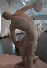 Myron, Discobolus, from back