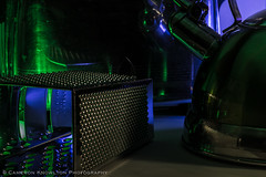 A Toaster, a Kettle, and a Cheesegrater Walked into a Bar... (Cameron Knowlton) Tags: longexposure up closeup reflections lights sticks nikon long exposure pattern glow close toaster patterns kettle grater glowsticks ight d600 ightsticks