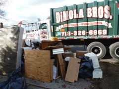 Bulk junk removal after hurricane Sandy in Queens NY (The Trash it Man) Tags: hurricane cleanup howardbeach hurricanecleanup flooddamagecleanup hurricanesandy sandyaftermath
