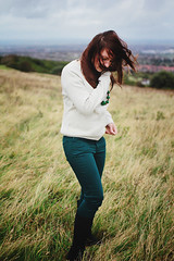(Anastasia Autumn) Tags: uk light england white green girl beautiful colours bokeh eastbourne british russian 30mm flyinghair fullheight