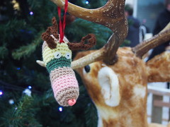 It looks like rain-dear (birdlouise) Tags: christmas tree reindeer crochet decoration