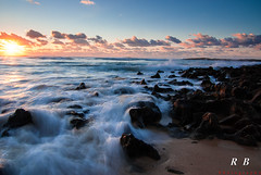 Wonderous company (RBXposure) Tags: sunset sea beach rocks wideangle tokina alentejo vilanovamilfontes 1116mm