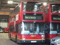 London General PVL289  Sutton bus garage (A) 02/12/12. (Ledlon89) Tags: bus london volvo general transport surrey sutton busgarage londonbus tfl pvl goahead plaxtonpresident