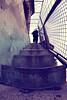 Narrow Stairs (CoolMcFlash) Tags: vienna wien urban lines silhouette wall architecture stairs canon vintage person photography eos austria österreich fotografie wand perspective sigma wideangle retro fisheye architektur narrow eng perspektive stufen softtones 10mm weitwinkel linien umris aufgang städtisch fav10 fischauge steigen stiegen kontur 60d stiegenaufgang